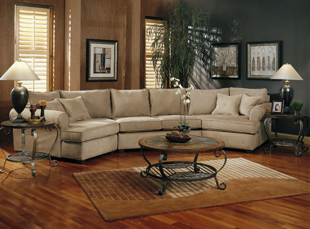 Qq Furniture Quality For Lifestyle Austin Microfiber Sectional Sofa